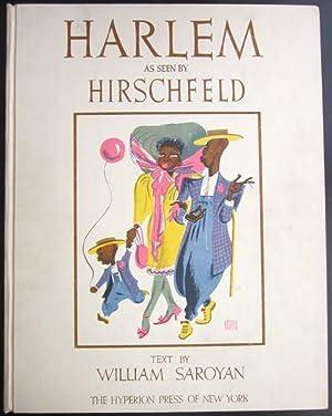 Harlem, As Seen by Hirschfeld: Hirschfeld, Al; Saroyan, William