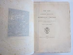 The Life and Surprising Adventures of Robinson Crusoe of York, Mariner: Defoe, Daniel; Cruikshank, ...