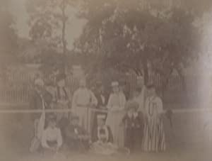 Photographs: Northeastern United States, Early 1890s.: tennis photographs]
