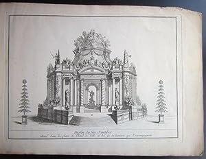 Plans et dessins Des constructions et decorations ordonées par la Ville de Paris pour les ...