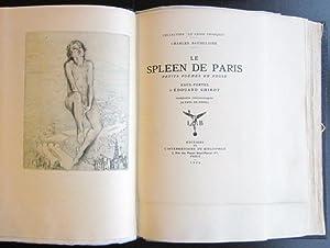 Le Spleen de Paris. Petits Poems en Prose: Baudelaire, Charles; [Chimot, Edouard]