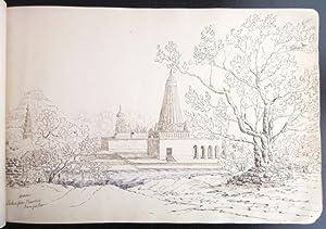 Sketchbook, Lieutenant-Colonel Andrew Hamilton (1811-1900): manuscript; original artwork]