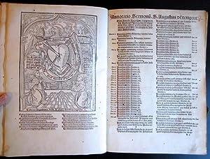 Sermones de tempore [de sanctis], [WITH] Amerbach Anno saluti feri virginalis partus: ...
