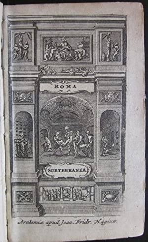 Roma Subterranea Novissima: Paolo Aringhi, trans.