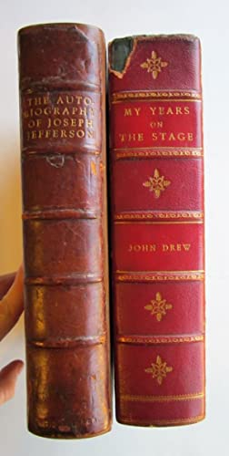 The Autobiography of Joseph Jefferson [SOLD WITH]: Jefferson, Joseph; Drew,