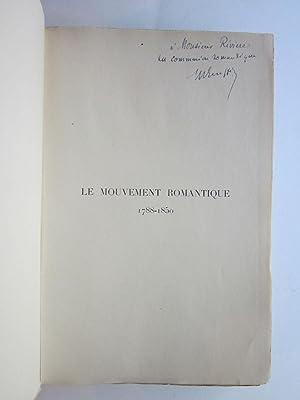 Le Mouvement Romantique 1788-1850, Essai de Bibliographie Synchronique et Methodique, Precede d&#...