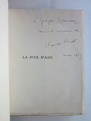 La Rive d'Asie: Anet, Claude [Jean Schopfer] (1868-1931)
