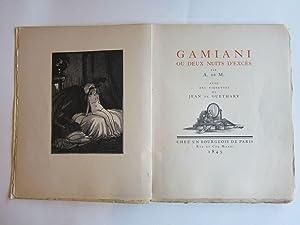 Gamiani ou Deux Nuits d'Exces: A. de M.; Jean de Guethary (illus.)