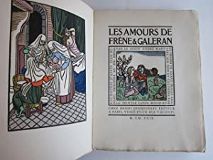 Les Amours de Frêne et Galeran. Racontées d'après Jean Renart, trouv&...