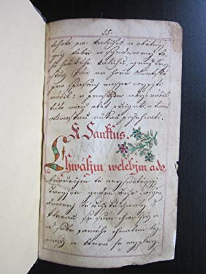 Manuscript Extracts: manuscript; Fraktur]