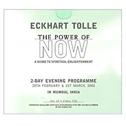 The Power of Now-Video of Talks in: Eckhart Tolle