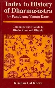Index to History of Dharmasastra By Pandurang: Krishan Lal Khera