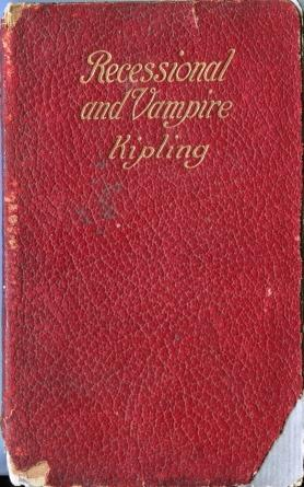 The Recessional The Vampire and Other Poems: Rudyard Kipling
