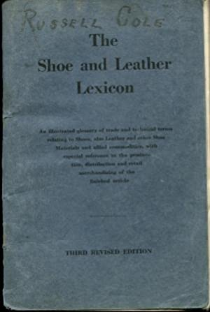 The Shoe and Leather Lexicon: Walter C. Taylor