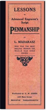 Lessons in Advanced Engraver's Script: Madarasz, Louis