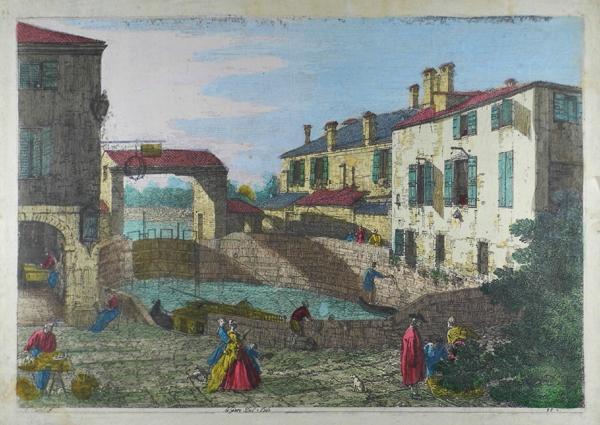 le porte del Dolo: Antonio Canaletto