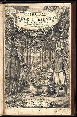 De Indiae utriusque re naturali et medica,: PISO G.