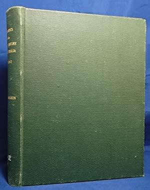 Fragments of the Early History of Australia, 1788 to 1812: McMahon, John (Compiled By)