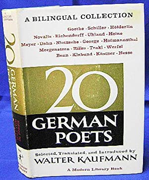 Twenty German Poets. A Bilingual Collection