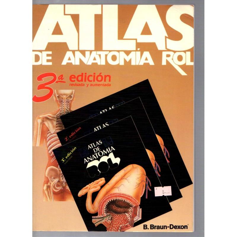 atlas de anatomia - Iberlibro