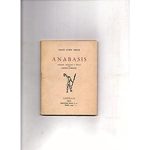 Anabasis / Agustin Larrauri: Agustin Larrauri