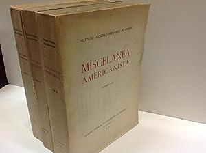 MISCELANEA AMERICANISTA HOMENAJE A D ANTONIO BALLESTEROS: MISCELANEA AMERICANISTA.