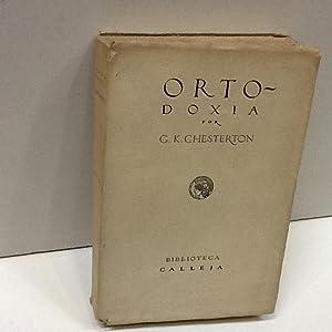 ORTODOXIA: CHESTERTON (G.K.)