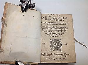 SAGRARIO DE TOLEDO POEMA HEROICO: VALDIVIELSO (Joseph de)