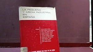 LA PEQUEÑA Y MEDIA INDUSTRIA EN ESPAÑA: RAFAEL ACOSTA ESPAÑA