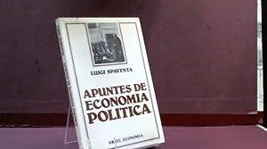 APUNTES DE ECONOMIA POLITICA: LUIGI SPAVENTA