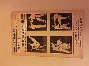 Black Belt, Karate and Jukado: TEGNER, Bruce.