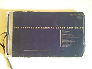 ONI 226 Allied Landing Craft and Ships1