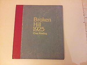 Broken Hill 1925: RAWLING, Chas.
