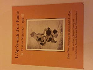 L'Apres-midi d'Un Faune: Thirty Three Photographs by Baron Adolf de Meyer: NIJINSKY, ...