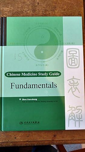 Chinese Medicine Study Guide: Fundamentals.: Xue-sheng, Zhou.