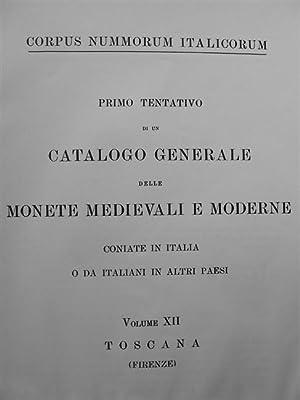 CORPUS NUMMORUM ITALICORUM. Primo tentativo di un catalogo generale delle monete medievali e ...