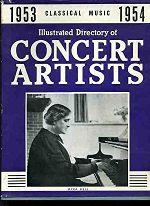 Illustrated Directory of Concert Artists 1953-54