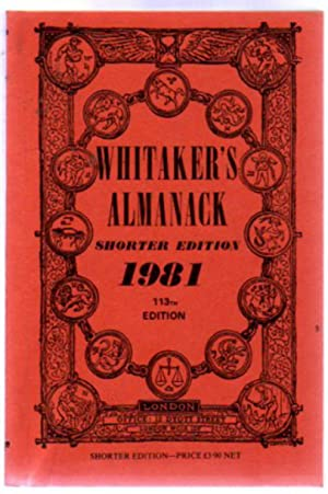 Whitaker's Almanack : 1981 - 113th Edition