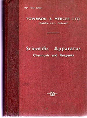 Universal Catalogue of Scientific Apparatus Chemicals and: Townson & Mercer