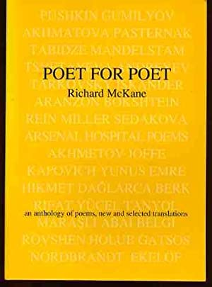 Poet for Poet: An Anthology of Poems - New and Selected Translations (SIGNED COPY)