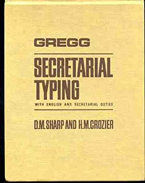Gregg Secretarial Typing : With English and Secretarial Duties