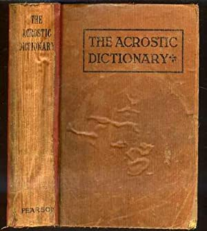 The Acrostic Dictionary