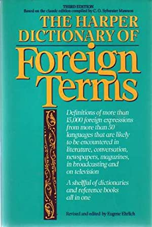 The Harper Dictionary of Foreign Terms