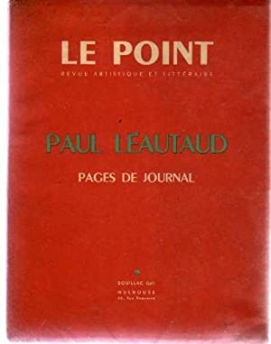 Le Point : Paul Léautaud. Pages de Journal