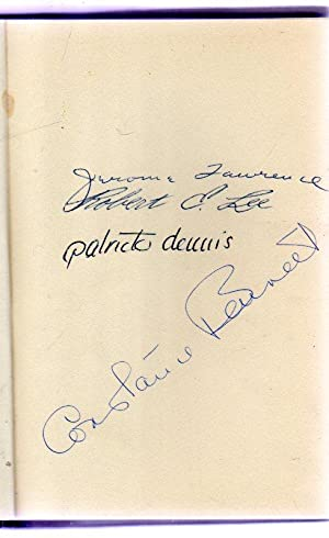 Auntie Mame, a New Play based on the novel by Patrick Dennis - SIGNED COPY