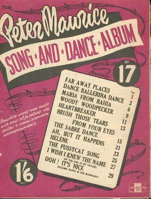 The Peter Maurice Song and Dance Album