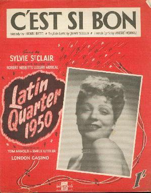 C'est Si Bon: Betti Henri (melody)
