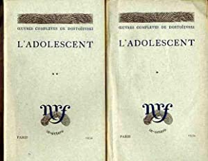 L'Adolescent (Two Volumes)