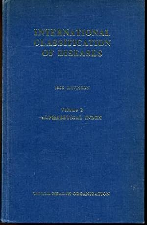 Manual of the International Statistical Classification of: Anon