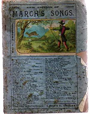 March's Songs - New Edition of 1899-1900 - No 1